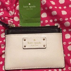 Kate Spade card holder mint
